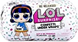 L.O.L. Surprise! Confetti Under Wraps Doll with 15 Surprises & Exclusive Doll Collectible and Accessories, for Ages 6 and Up | Surprise Pop of Confetti in Every Capsule Surprise Toys for Girls