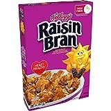 Kellogg's Raisin Bran, Breakfast Cereal, Original, Excellent Source of Fiber, 16.6oz Box(Pack of 3)
