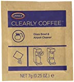 Urnex Coffee Machine Cleaning Powder - 1/4 Ounce Packet [125 Packets] - Glass Bowl and Airpot Cleaner for Coffee Machines, 0.25 Ounce (Pack of 125)