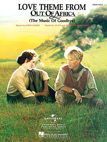 Love Theme From Out Of Africa - Piano - BOOK