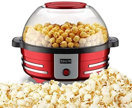 ZFQZKK Multifunción Popcorn Popper Maker, Máquina eléctrica de Palomitas de maíz 850W...