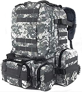 Multifunction Military Rucksack Outdoor Tactical Backpack Travel Camping Hiking Sports Bag ACU
