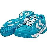 hummel Aerospeed 3.0 Tech, Chaussures de Handball Mixte Adulte, Turquoise (Hawaiian Ocean 7060), 45 EU