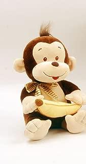 Linzy Toys Mojo Monkey with Banana - Holding Plush Doll