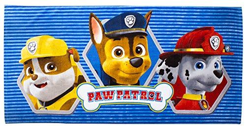 Paw Patrol La Patrouille Serviette de plage en coton
