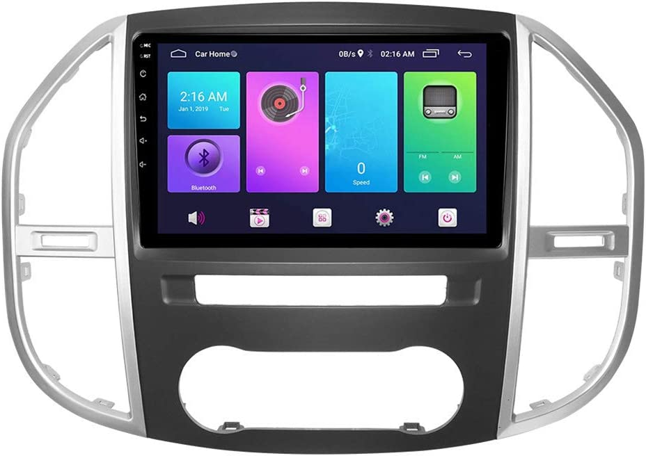 Android Car Stereo Sat Nav for El Paso Mall Unit Benz Vito 2016-2019 GPS Head We OFFer at cheap prices