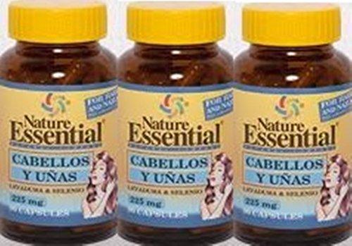Haar en nagels (lev + selenium) 90 capsules met biergist + selenium (verpakking 3 u.)