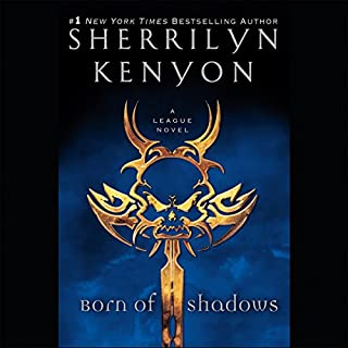 Born of Shadows audiobook cover art