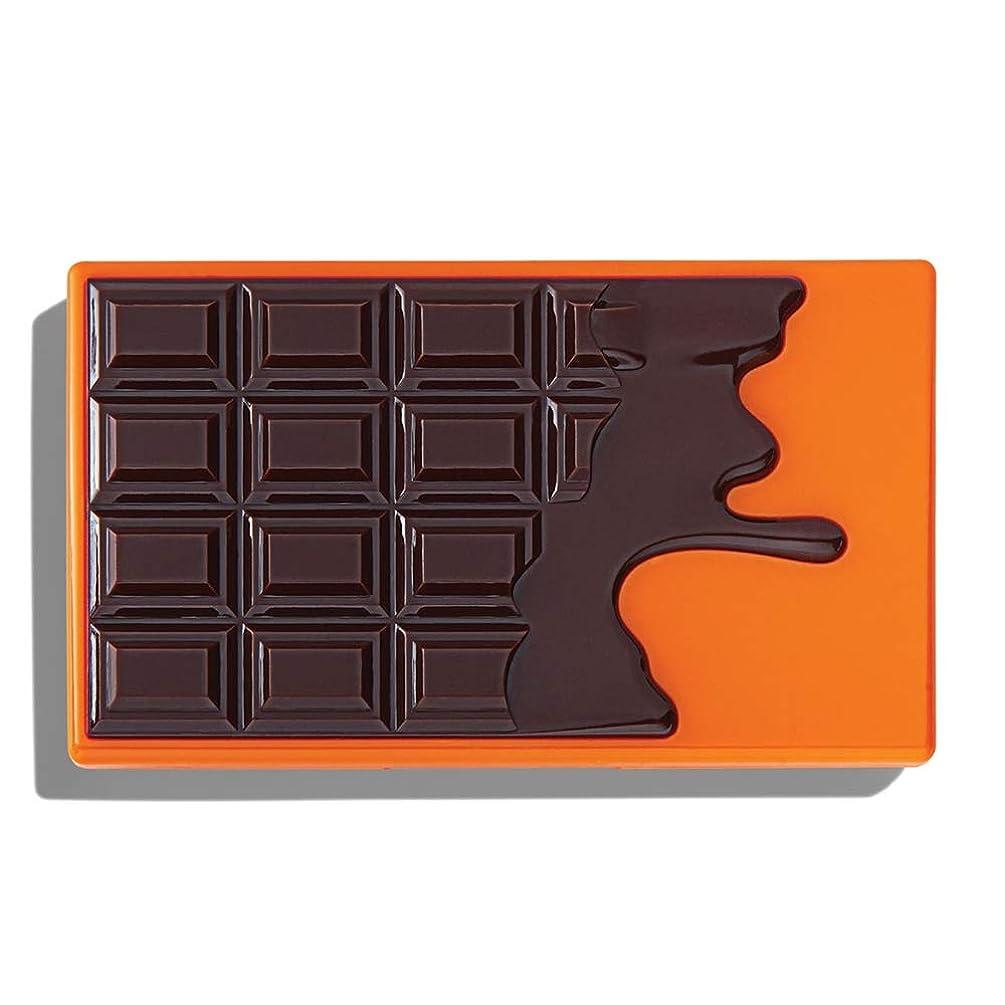 年金受給者居住者以下メイクアップレボリューション チョコレート型8色 ミニアイシャドウパレット #CHOC ORANGE