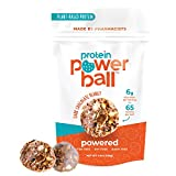Protein Balls by Protein Power Ball | Protein Bar Alternative | On-the-Go Snacks | Gluten Free, Dairy Free, Soy Free, Keto Snack | High Protein Energy Bites (Dark Chocolate Peanut, 1 Pack)