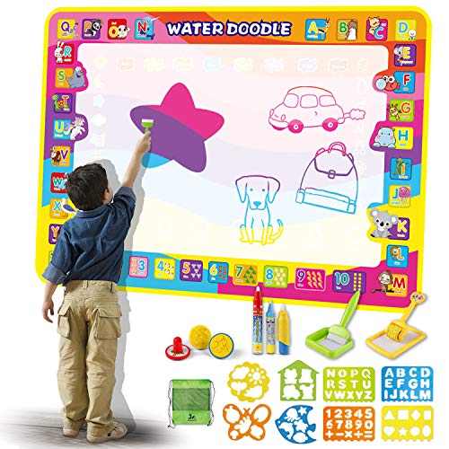 SainSmart Jr. Water Painting Doodle Mat with Bag– 2020 Latest Version