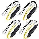 Gebildet 4Pcs de 12 V/21 W LED de Resistencia de Carga para Motocicleta, Indicador Intermitente...