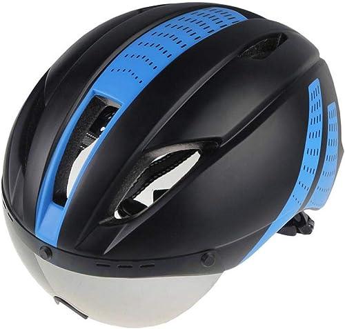 hasta un 50% de descuento LIUDATOU Ciclismo Casco Eps Insect Insect Insect Net Road MTB Bike Lentes a Prueba de Viento Casco Moldeado integralmente  entrega de rayos