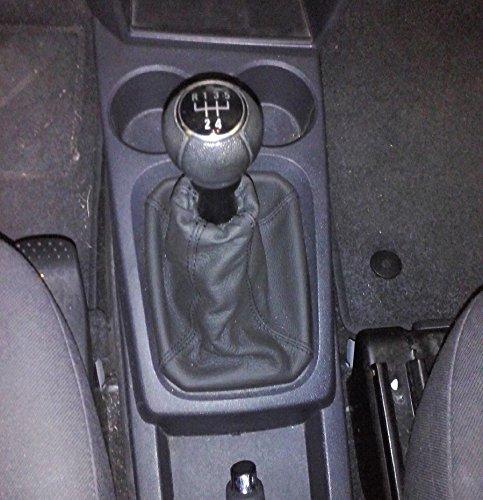 Opel Meriva A dal 2003 al 2010 cuffia cambio e freno a mano vera pelle antracite