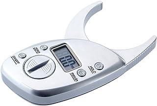 Healifty Plicometro Medidor Manual Grasa Corporal Tipo Pinza Analizador de Pliegues de Piel Electrónico