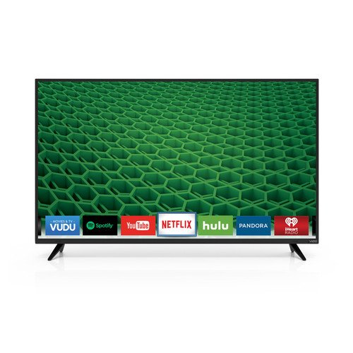 VIZIO D55-D2 D-Series 55' Class Full Array LED Smart TV (Black)