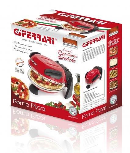 G3 Ferrari G10006 Delizia Pizza Oven – 1200W in Red