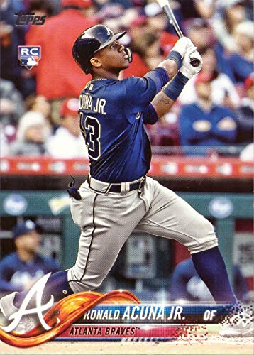 2018 Topps Update Baseball #US250 Ronald Acuna Jr. Rookie Card