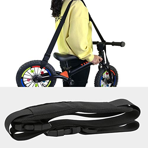 TAKE FANS Kick Scooter Correa de hombro, ajustable Scooter Correa de transporte para niños Balance Bike Scooter Silla Plegable Yoga Mat ⭐