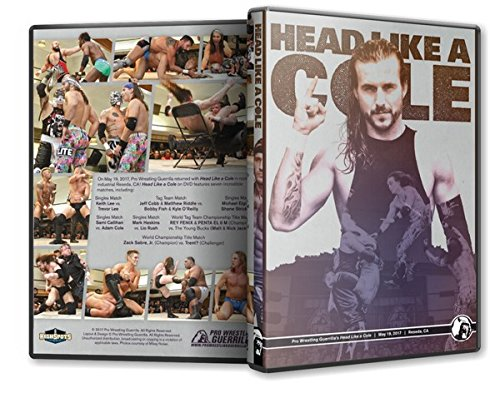 Official Pro Wrestling Guerrilla PWG - Head Like A Cole 2017 Event Blu-Ray