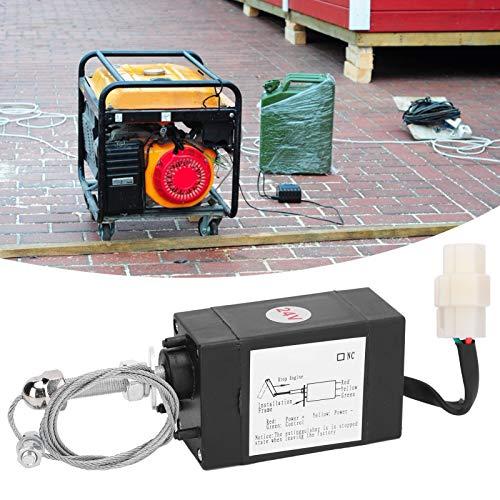 Válvula solenoide, válvula solenoide XHQ-PT, control de servomotor de alambre de acero y plástico de alto rendimiento Fuerza de tracción 90N-110N para generador diésel de motor disel