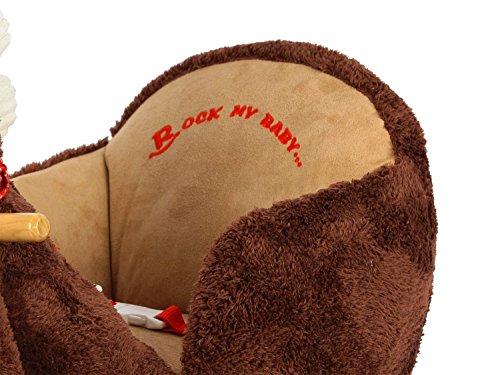 Dunjo® Baby Schaukeltier Pferd mit Sitz, Rollen, Soundmodul, 66283 - 4