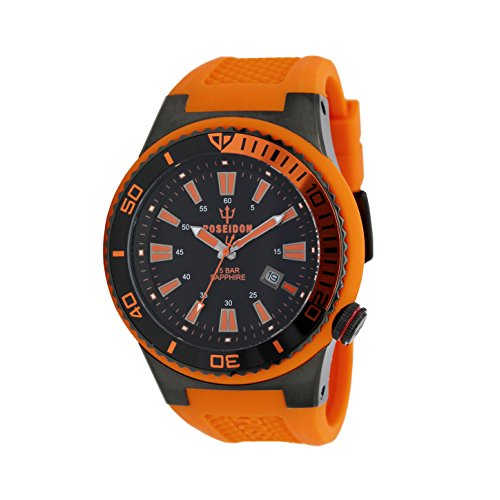 POSEIDON by KIENZLE Uhr Analog mit Silikon Armband UP00504