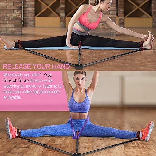 Product Image 6: FIGROL Leg Stretcher Leg Split Stretching Machine Stretching Equipment Flexibility for Ballet, Yoga,Dance, MMA, Taekwondo & Gymnastics(Black)