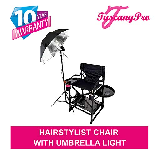 PRESALE----# MU2R Tuscany PRO Hairstylist Chair w/ Light-5 Years Warranty Product-25' Seat Height-THIS IS THE MOST ELECTED CHAIR BY HAIRSTYLISTS!!