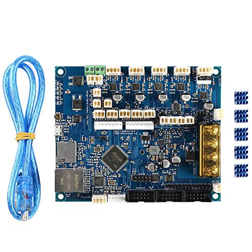 SongMyao Led Makeup Mirror 3D Printer CNC Machine Cloned Duet 2 Maestro Advanced 32bit Motherboard Mainboard (Color : Blue, Size : One size)