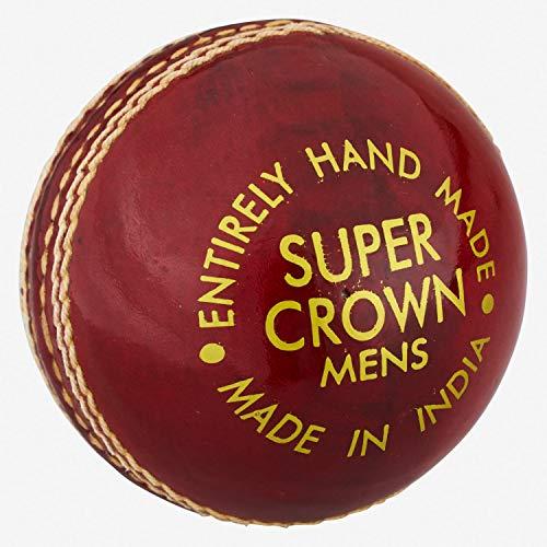 Readers Unisex Super Crown Senior Cricket-Set, Rot, 6 Stück