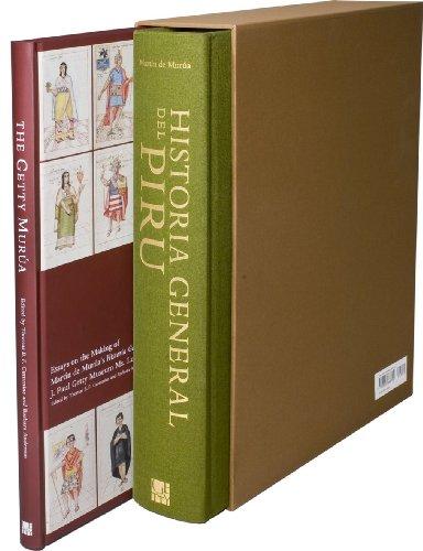 Historia General Del Piru and the Getty Murua – Facsimile of J. Paul Getty Museum MS Ludwig XIII 16 (Getty Publications – (Yale))