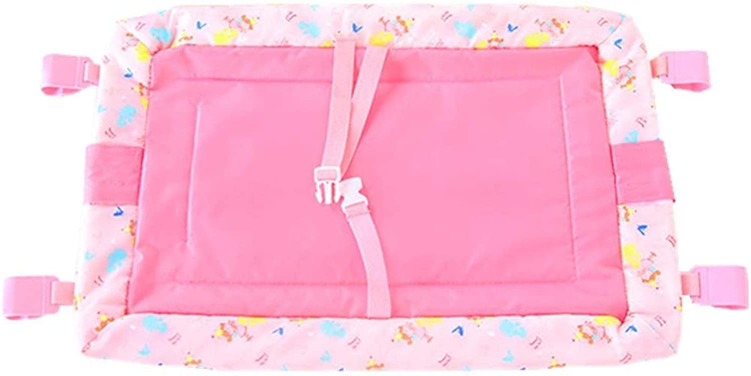 Baby Changing Unit Mat Table, Infant Pad Portable Baby Diaper for Home and Travel, Pink, Load-bearing 20kg