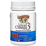 Barlean's Organic Oils Ideal Omega-3 Nutritional Supplement Softgel, 1000mg EPA/DHA, Orange Flavor, 60 Count