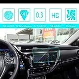 8X-SPEED Auto Navigation Glas Schutzfolie Für 2017 2018 to yota Corolla Bildschirmschutzfolie HD Kratzfest Anti-Fingerprint GPS Navi Folie