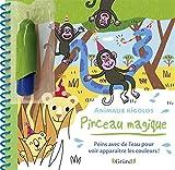 Pinceau magique : Animaux rigolos – Livre Coloriage magique à l'eau avec un pinceau – À partir de 3 ans