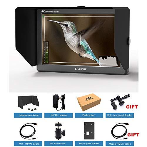 LILLIPUT A8 8,9 Pollici Utra Slim IPS Full HD 1920 x 1200 4K HDMI 3D-LUT Video Monitor per Fotocamera DSLR Video