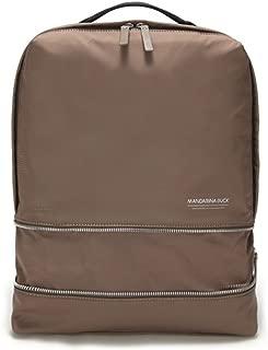 MANDARINA Duck Ladies Backpack School Casual Bag Joy Full JFT Expandable (Taupe(JFT0109K))