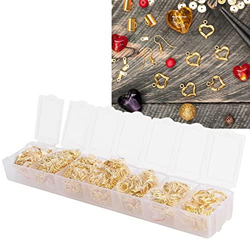 Anillo para hacer joyas, caja de embalaje independiente Anillo Juego de broches de langosta Broches de garra de langosta con alicates Pinzas Suministros para hacer joyas de bricolaje para