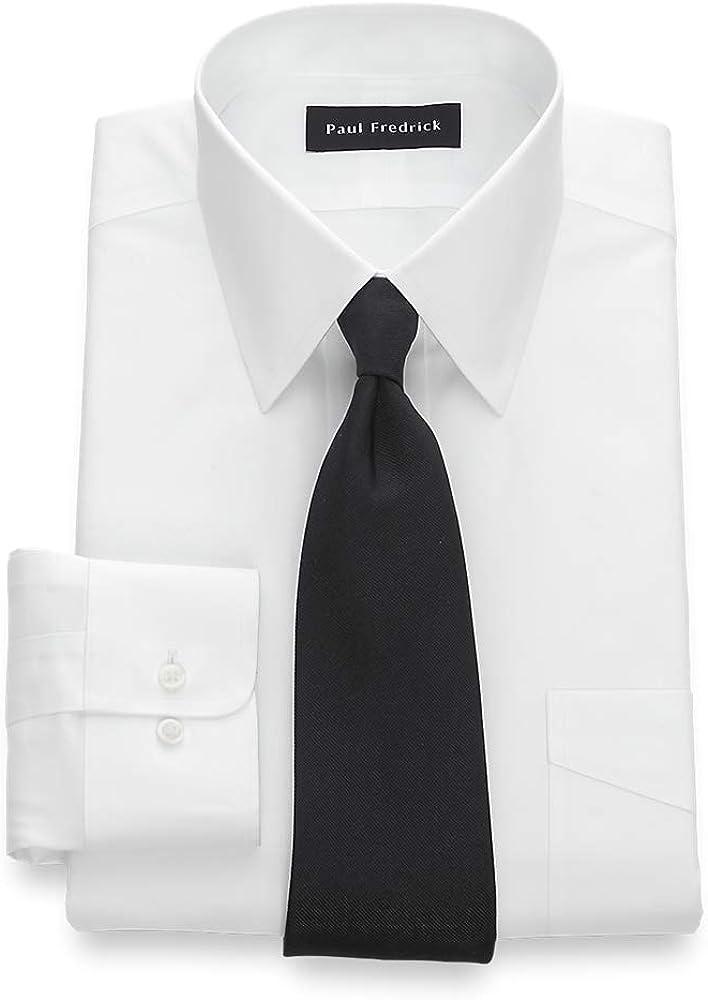 Paul Fredrick Ranking TOP12 Men's Tailored Non-Iron Cotton Washington Mall Pinpoint Fit