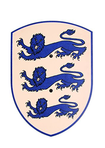 V A H - Schilde in Drei Löwen (Weiß/Blau), Größe Klein (Breite 27cm / Länge 37cm)