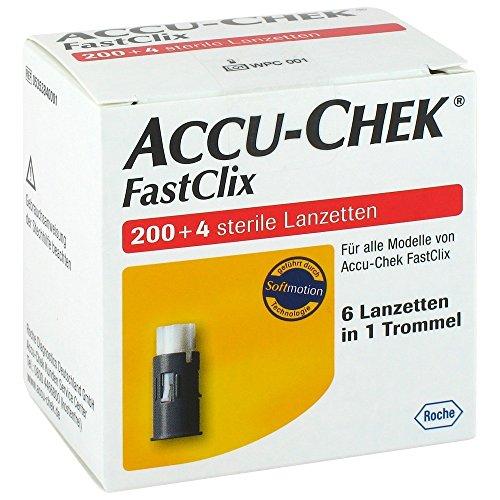 ACCU-CHEK ACCU CHEK FastClix Lanzetten - 204 St Lanzetten 07234988