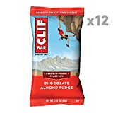 CLIF BAR - Energy Bars - Chocolate Almond Fudge - (2.4 Ounce Protein Bars, 12 Count)