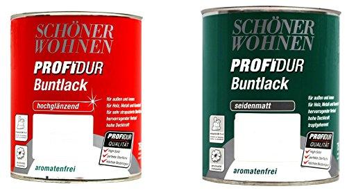 0,375L Schöner Wohnen ProfiDur Buntlack sm 0096 altweiss