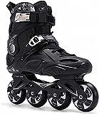Patines enrollables Patines en línea al aire libre para hombres y mujeres Zapatos de patinaje de velocidad para niños Profesional de fibra de carbono Rodillo de fibra de carbono Rendimiento Adulto Apt