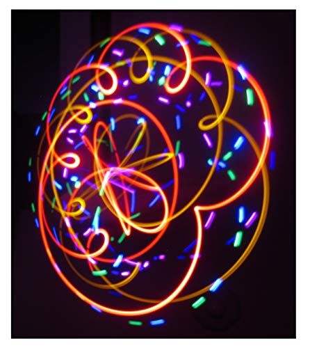 LED Spinning Orbit Rave Light Show - Fever Dream Orbital