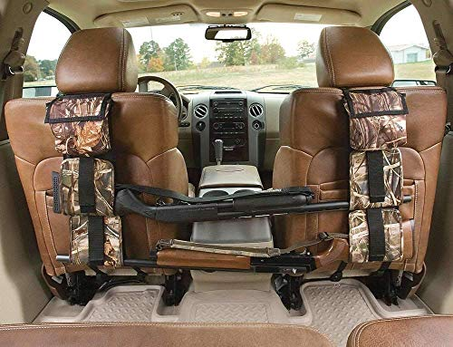 DAIXI Car Concealed Seat Back Gun Rack Hunting Gear Seat Back Gun Sling Holder Universal Shooting Accessories, Fit for Vehicles (Camouflage-1)