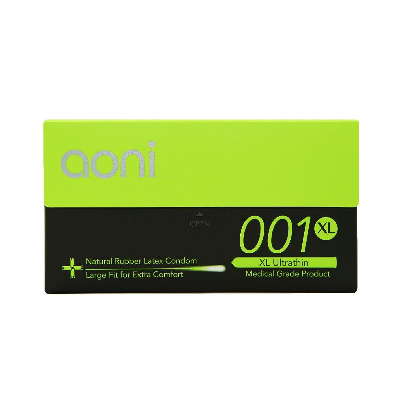 Aoni Condoms - XL Ultrathin 001 12 PCS - Premium 001 Series - Water Based Lubricant