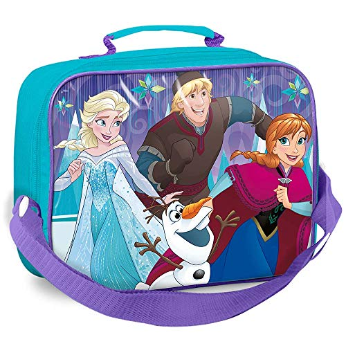 Disney Frozen–Bolsa portameriendas mit Trinkflasche und Sandwichmaker, Farbe (Suncity sue-lr0253)