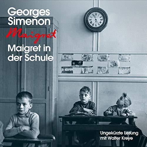 Maigret in der Schule cover art